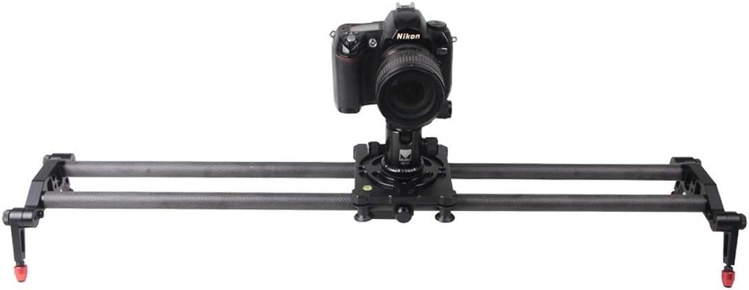 HUIFANGBU TC-800 Portable Desktop 80cm Slide Rail Track for SLR Cameras//Video Cameras