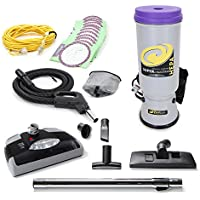 ProTeam Super CoachVac Commercial Backpack Vacuum Cleaner With Power head