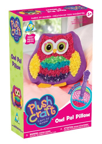 The Orb Factory PlushCraft Owl Pal Pillow by The Orb Factory