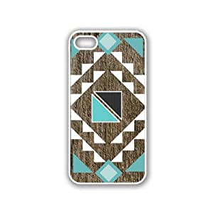 Geometrical Tribal Pattern White iPhone 5 & 5S Case - Fits iPhone 5 & 5S