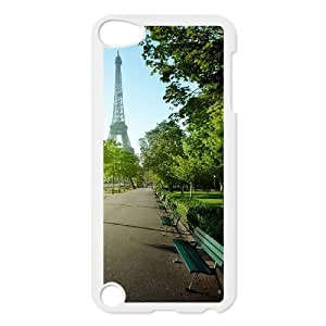 LASHAP Phone Case Of Tower Eiffel, a famous French building for iPod Touch 5