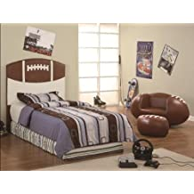 Crown Mark Football Headboard