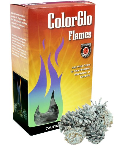 MEECO'S RED DEVIL 88110 ColorGlo Flame Cones ()