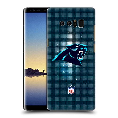 Official NFL LED 2017/18 Carolina Panthers Hard Back Case for Samsung Galaxy Note8 / Note 8