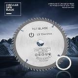 165mm Silver TCT Circular Saw Blade, Maxmartt, Hard