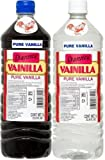 Danncy Pure Vanilla Extract From Mexico 33oz Each 2 Plastic Bottle Lot Sealed