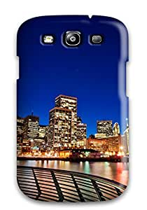 New Premium CaseyKBrown San Francisco Sunset Skin Case Cover Excellent Fitted For Galaxy S3
