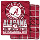 """NCAA College Officially Licensed - Double-Sided (60"""" x 70"""") Basketball - Ultra Soft Football Stadium Game - Throw Blankets - Choose Team"""