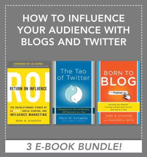 Download How to Influence Your Audience with Blogs and Twitter EBOOK BUNDLE Pdf