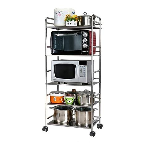 Amazon.com: Soporte para microondas de cocina para horno ...