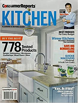 Consumer Reports Kitchen Planning And Buying Guide September 2016 B 9783598593062 Amazon Books