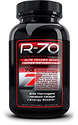 R70 Thermogenic Fat Burner, Weight Loss Supplement For Men and Women That Works