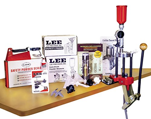 LEE PRECISION Classic Turret Press Kit (Best Reloading Press For 9mm)