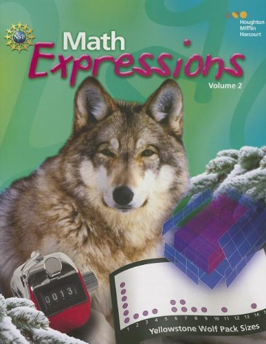 Math Expressions Student Activity Book, Vol. 2