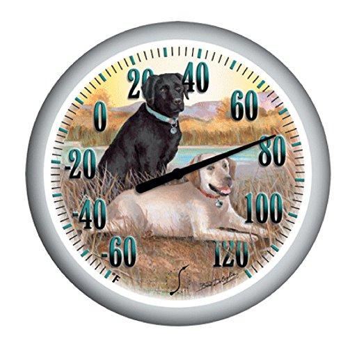 Garden Treasures Labrador Thermometer Indoor Outdoor (Lowes Outdoor Patio)