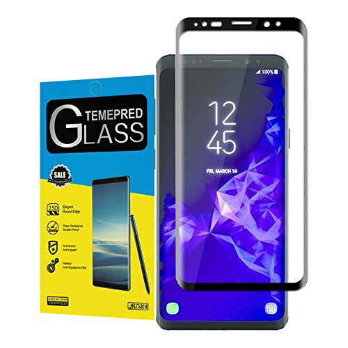 For Galaxy S9 Screen Protector,maxdemo High Definition Anti-Scratch Anti-fingerprint Bubble Free...