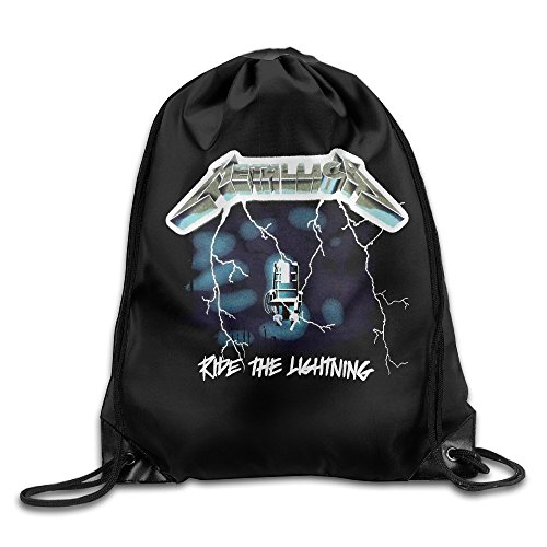 Price comparison product image Sports Drawstring Bag Ride The Lightning Studio Metallica Backpack