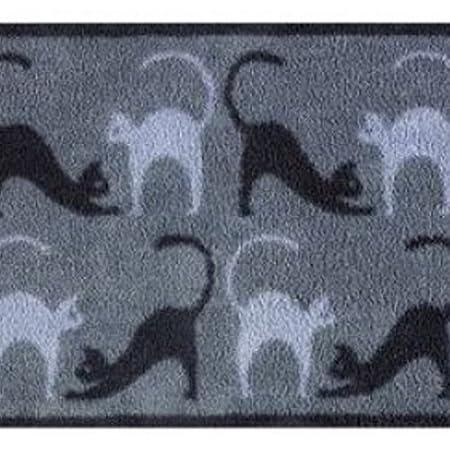 Cats Design Turtle Mat Indoor highly absorbent barrier mat Multi-Grip Backing 60x85cm B00BUM311M