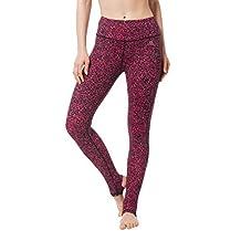 Matymats Women's Yoga Pants Stirrup Leggings Gym Active Workout Running Tights