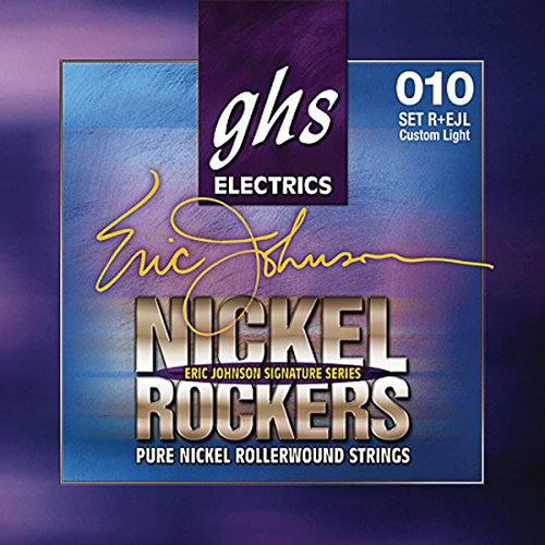 GHS R+EJL Nickel Rockers Eric Johnson Light Signature Electric Guitar Strings