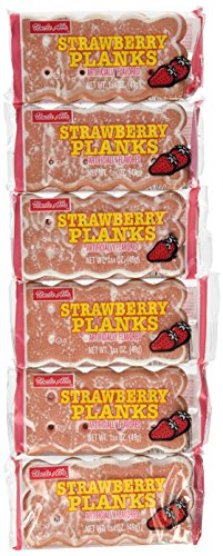 Uncle Al's Strawberry Stage Plank Cookie 12 Pk.