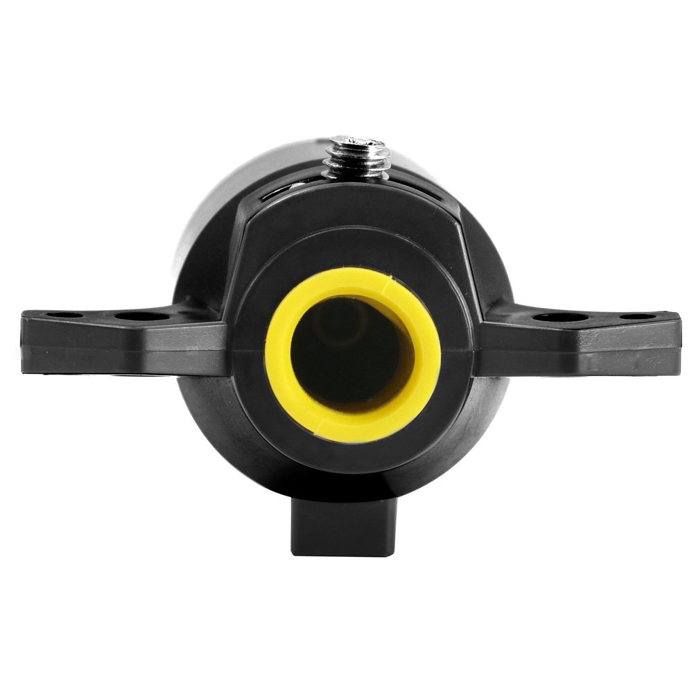 Trailer End TIROL 7 Pin Trailer Plug PLASTIC 7 Way Blade Round Connector Plug Male 12V Towbar Towing