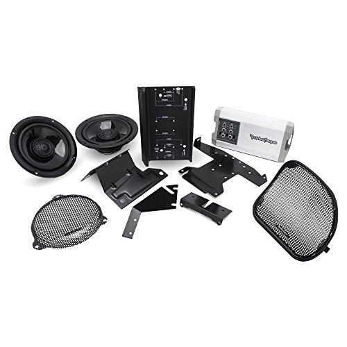 Rockford Fosgate HD14-TKIT 400 Watt T Series Front Audio Kit for Select 2014-Up Harley Davidson Motorcycles