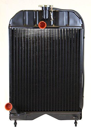 (NEW Replacement Copper Brass Radiator for Massey Ferguson 135, 135 UK, 148, 20, 2135, 35, 203, 205)
