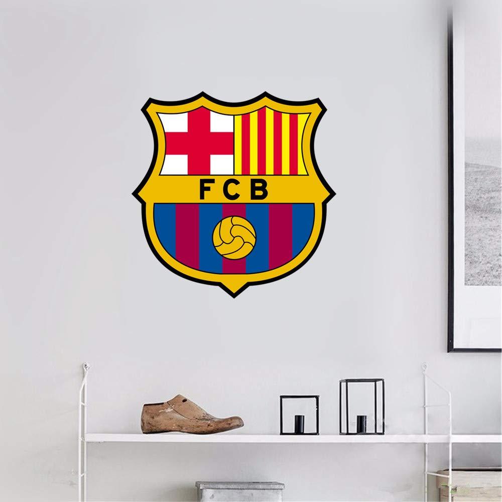 Uisat FC Barcelona Wall Art Decal Sport Soccer Team Logo Sign Sticker