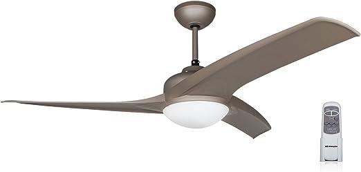 Orbegozo CP 93105 Ventilador de techo con luz, mando a distancia, 105 cm de diámetro, 3 velocidades de ventilación, silencioso, 50 W: Amazon.es: Hogar