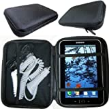 ChargerCity Universal Mini Tablet Case with Multi-Compartment for Apple iPad mini Google Nexus 7 8 Samsung Galaxy Tab 3 4 5 Tablets