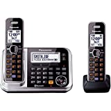 Panasonic KX-TG7872S Link2Cell Bluetooth Enabled Phone with Answering Machine & 2 Cordless Handsets (Discontinued By Manufacturer)