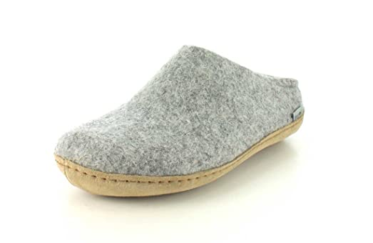 Glerups Womens Model B Natural Wool Open Slipper Slippers TZ9DT9REE