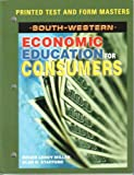 img - for South-western Economic Education for Consumers: Printed Test and Form Masters book / textbook / text book