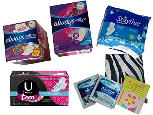 My First Period Sampler Kit - Pink Gift Box