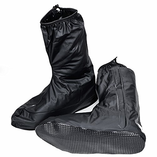 Zippered Motorcycle Boots - 7