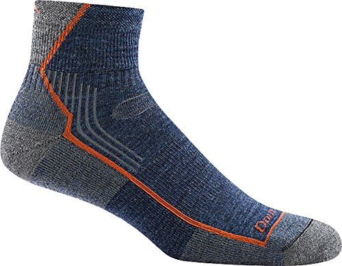Darn Tough Hiker 1/4 Cushion Sock - Men's Denim -