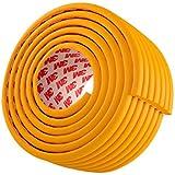ベビー コーナーガード コーナークッション 波型 タイプ 赤ちゃん ケガ防止 保育園での使用 全長5メートル 直接に使う テープが予メ貼る木の色