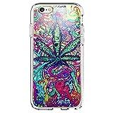 SHARK Marijuana Kush weed hipster case for (Iphone 5c)