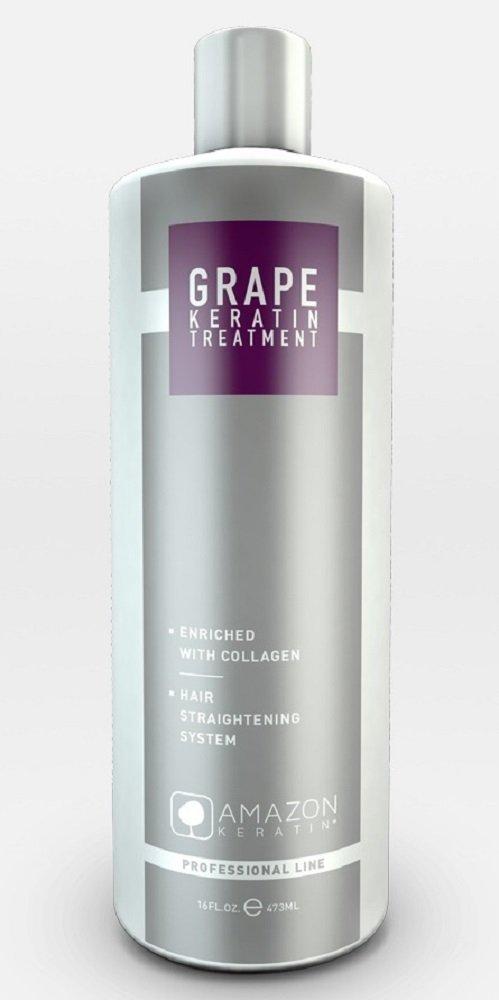 Amazon Professional Line Grape Keratin Hair Straightening Treatment 32 oz