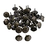 BQLZR Bronze Furniture Decorative Nails Upholstery Tacks Studs Pins 23x20mm Pack Of 50