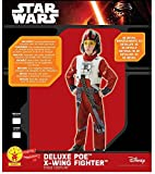 Star Wars Deluxe Poe X Wing Fighter Pilot Costume Child Costume Medium Ages 5-6
