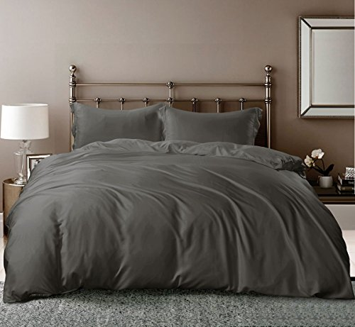 Hotel Quality Silky Soft 100% Bamboo-Derived Rayon Duvet Cov