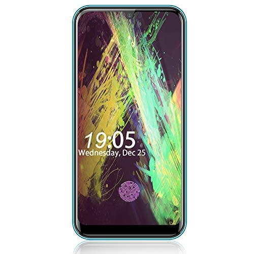 Unlocked Smartphones Allmeida A70 Dual 4G LTE Android 9.0 Cell Phone,32GB ROM+3GB RAM 5.71″ FHD 8MP + 5MP Dual Camera Fingerprint ID Phones,3800mAh Battery Unlocked Cell Phones(Green)