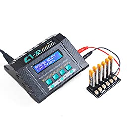 Crazepony 1S Lipo Battery Charging Board Blade Inductrix Ultra Micro JST-PH Parallel Connect Plate mCX mCPX