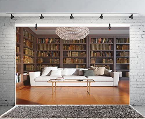Leyiyi Fotohintergrund Bücherregal Hintergrund Studie Kamera