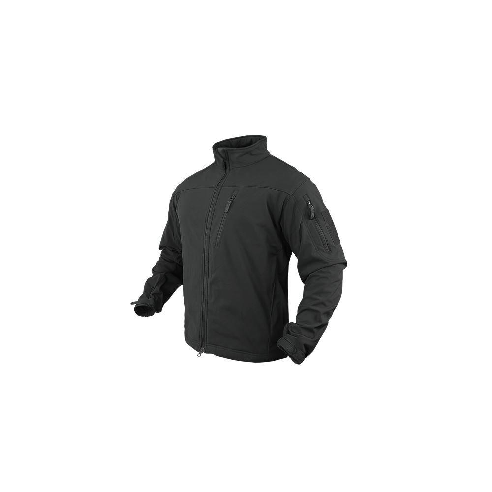Condor Outdoor Men's Phantom Soft Shell Jacket Small Black by CONDOR