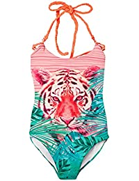 Big Girls Swimsuit One Piece UV Protection | Traje de Baño Para Niñas