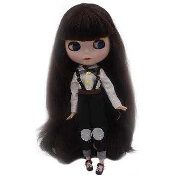 1/6 La muñeca BJD es similar a la Neo Blythe, ojos cambiantes de