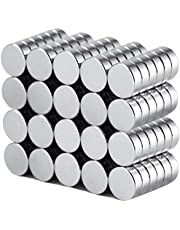 180PCS 6x2mm Round Magnet for Refrigerator Magnets, Offices, Artwork, Craft Whiteboards, Maps, Multi-Functional Durable Small Magnets
